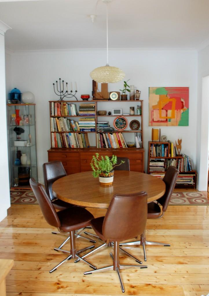 Vintage Dining Room Setting