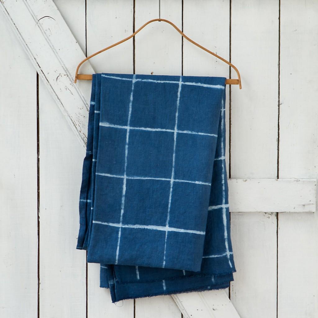 Indigo Blue Tablecloth