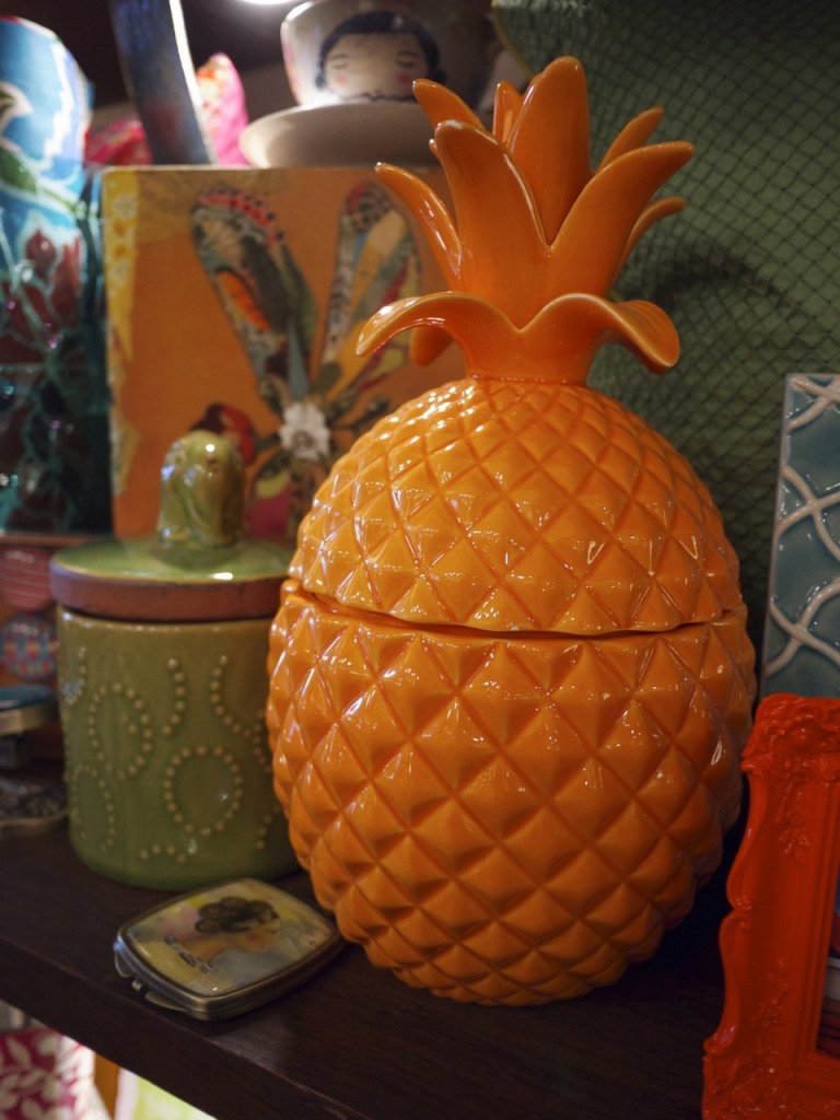 Live This Randwick Orange Pineapple Jar
