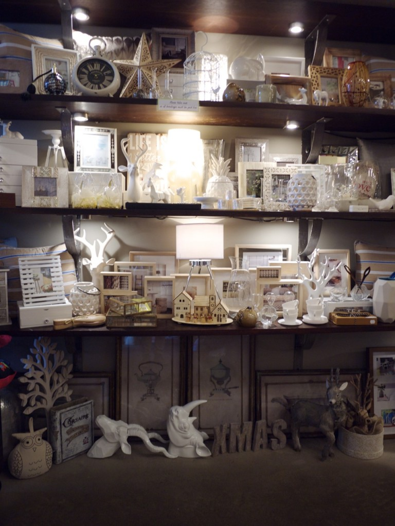 Live This Randwick White Shelf of Homewares and Decor