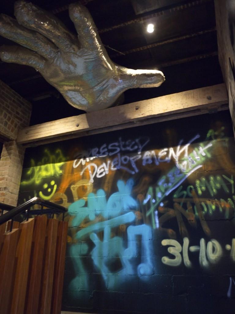 Graffiti Wall Art at Animal Bar in Newtown