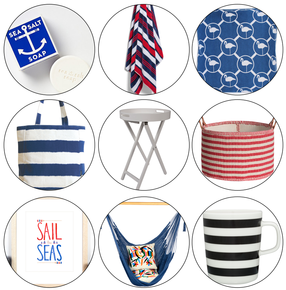 Nautical Decor Styling and Homewares Ideas