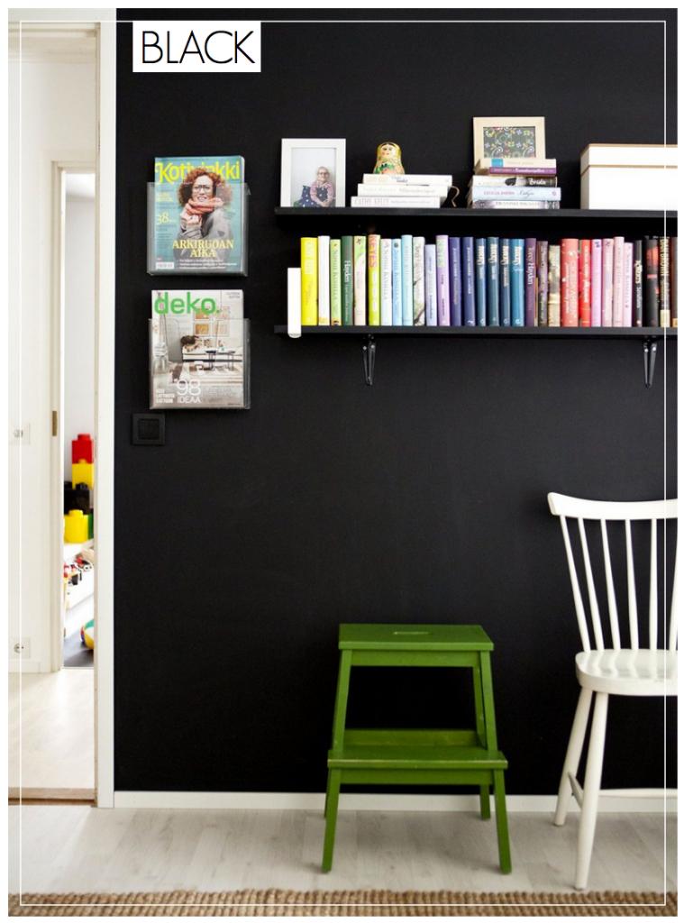 Black Walls Chalkboard Walls
