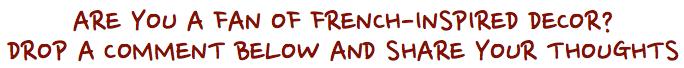 Do you like French Ornate?