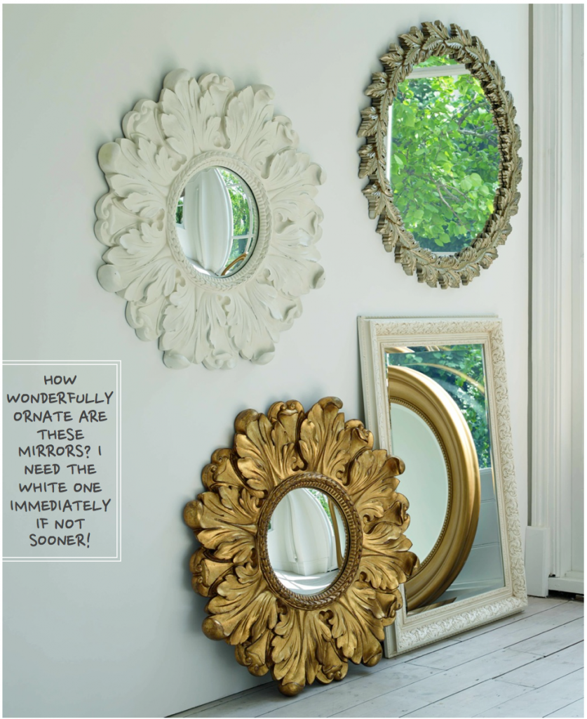 French Ornate Mirrors - Country Home Ideas