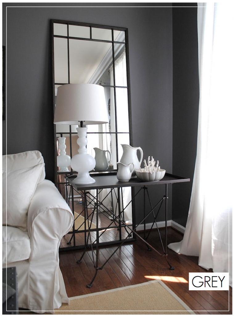 Grey Walls - Dark Wall Ideas
