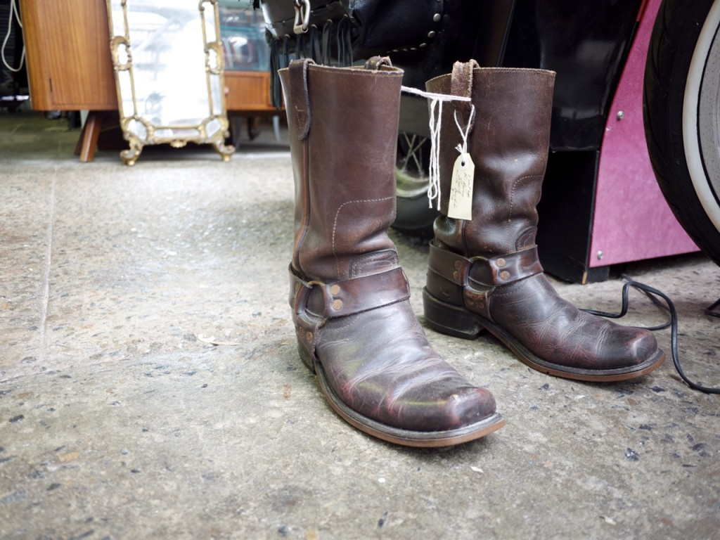 Vintage Furniture - The Works Glebe - Vintage Cowboy Boots