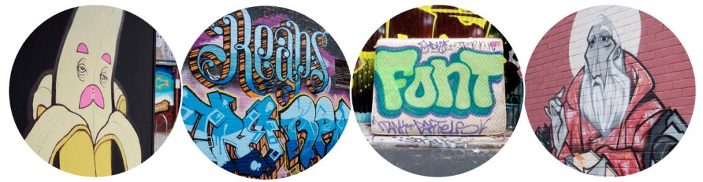 Graffiti Street Art in St Peters and Newtown