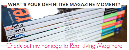 Real Living Magazine - The Life Creative Magazine Moment