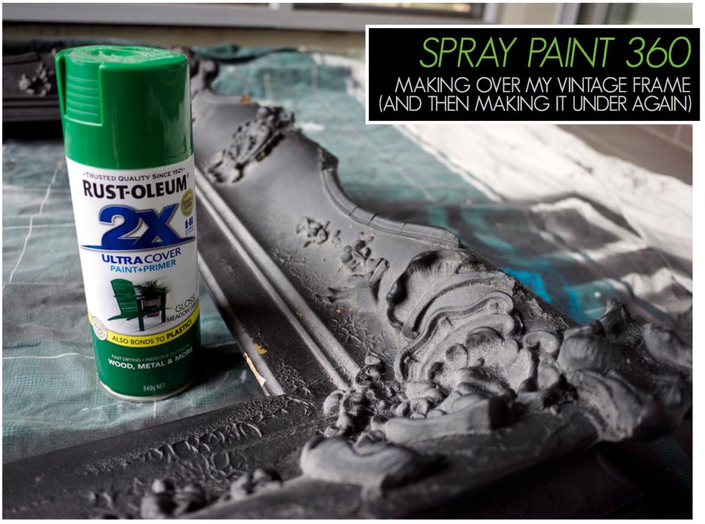Rustoleum Spray Paint Makeover