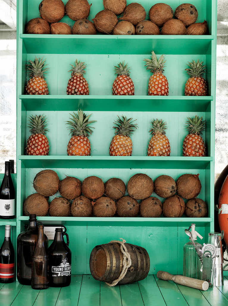 Watsons Bay Hotel Beach Club - Mint Green and Pineapples