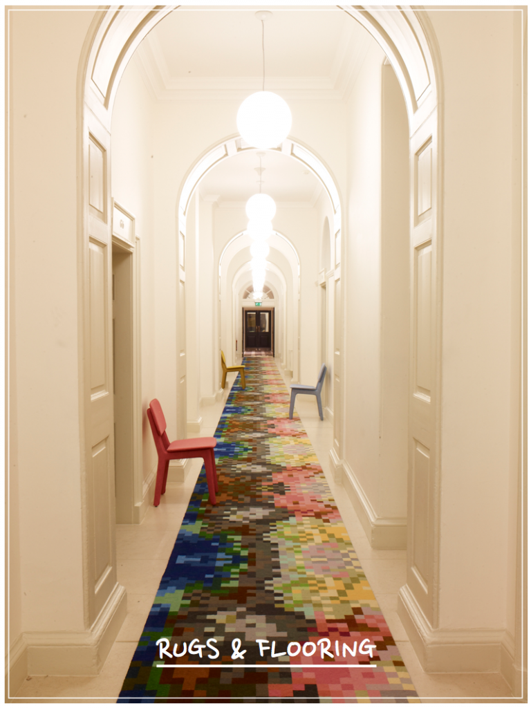Long Rug Runner in Hallway