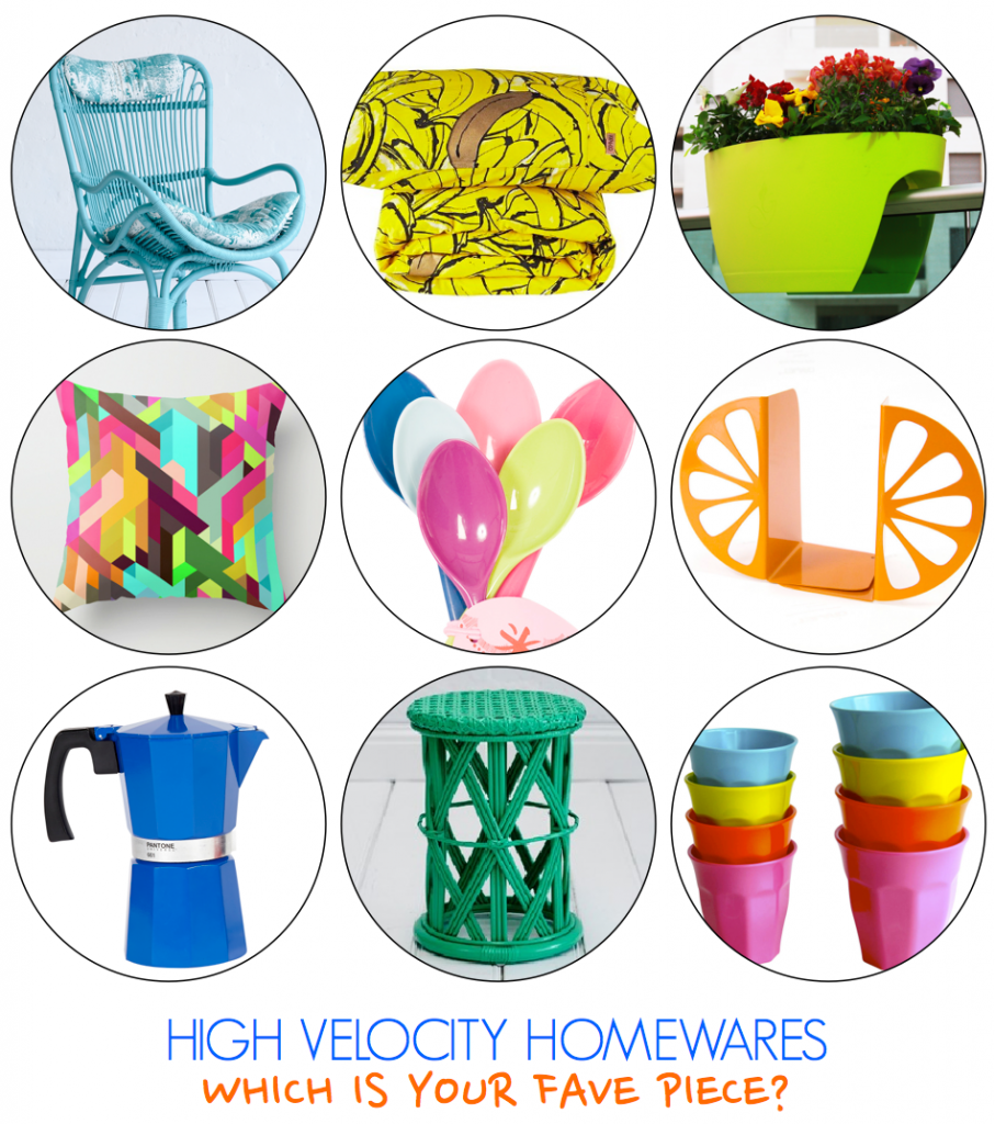 Bright Decor Buys - Colourful Homewares