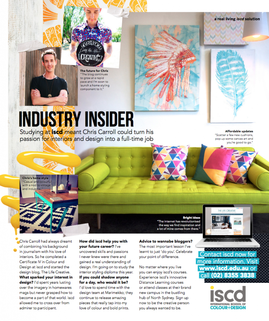 TLC Interiors - Real Living Magazine