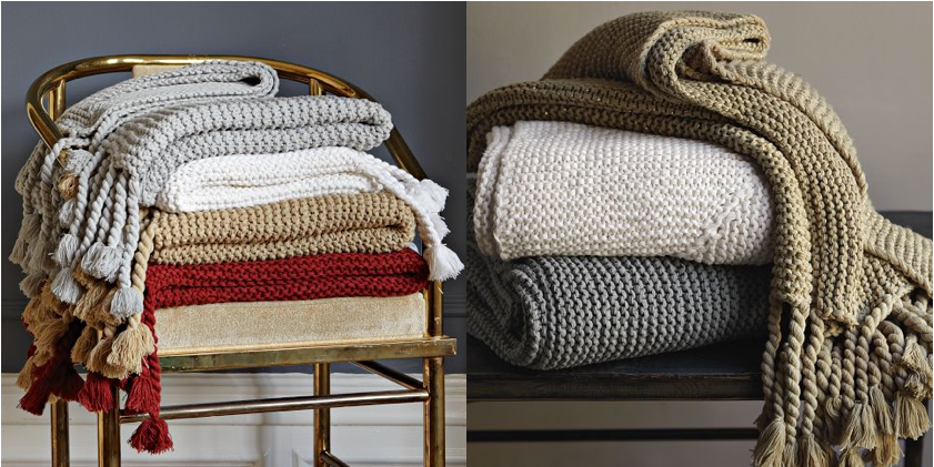 Autumn Decorating - Throws