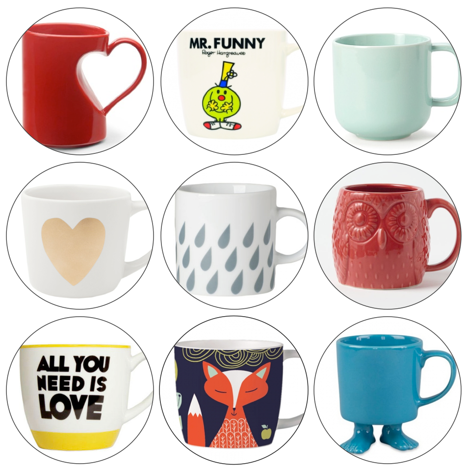 Nine Must-Have Mugs from The Life Creative