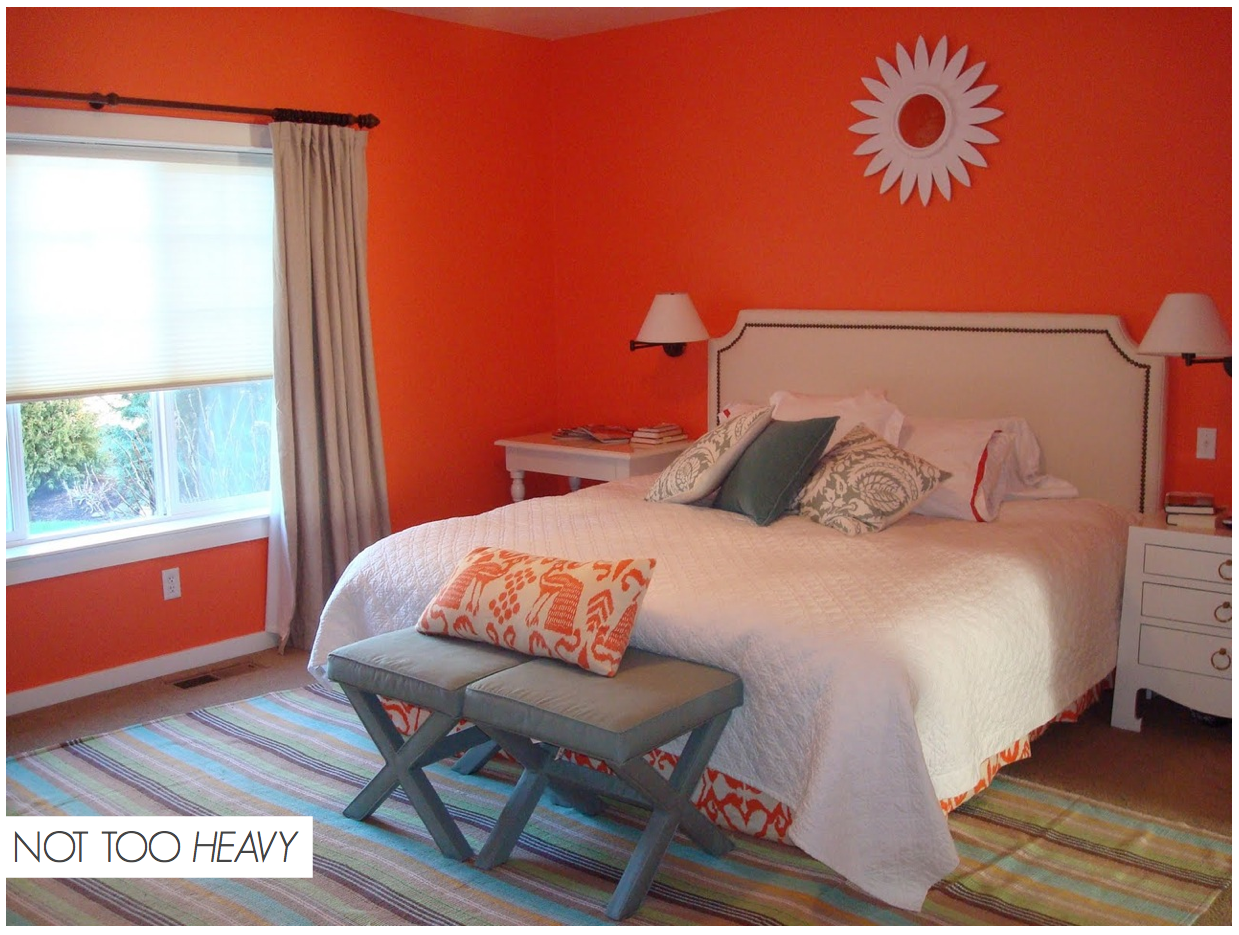 Orange Decor Styling - Heavy