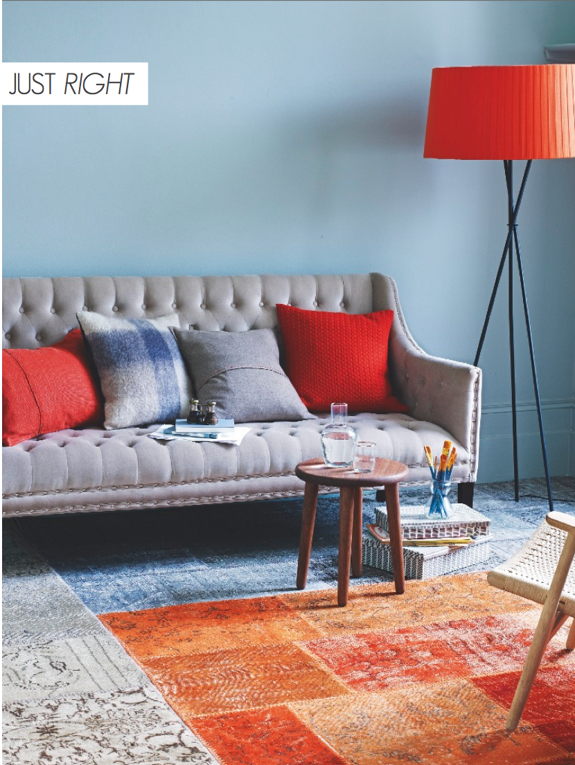 Orange Decor Styling - Just Right