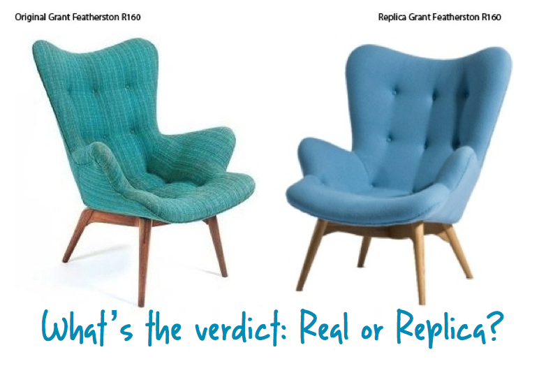 Replica vs Real Furniture