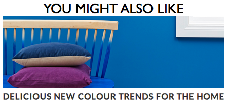 Colour Trends for the Home