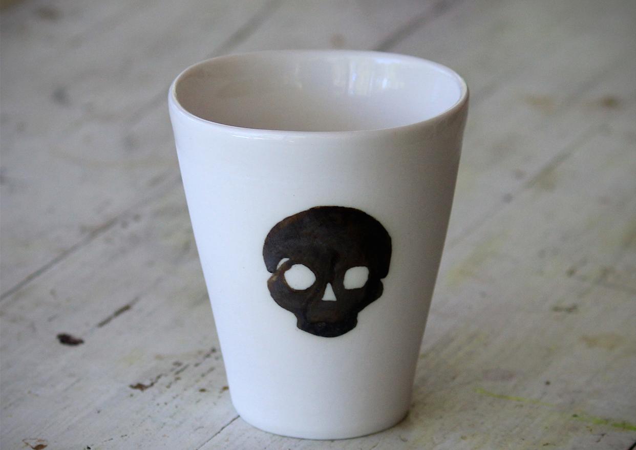 Skull Mug - The Life Creative