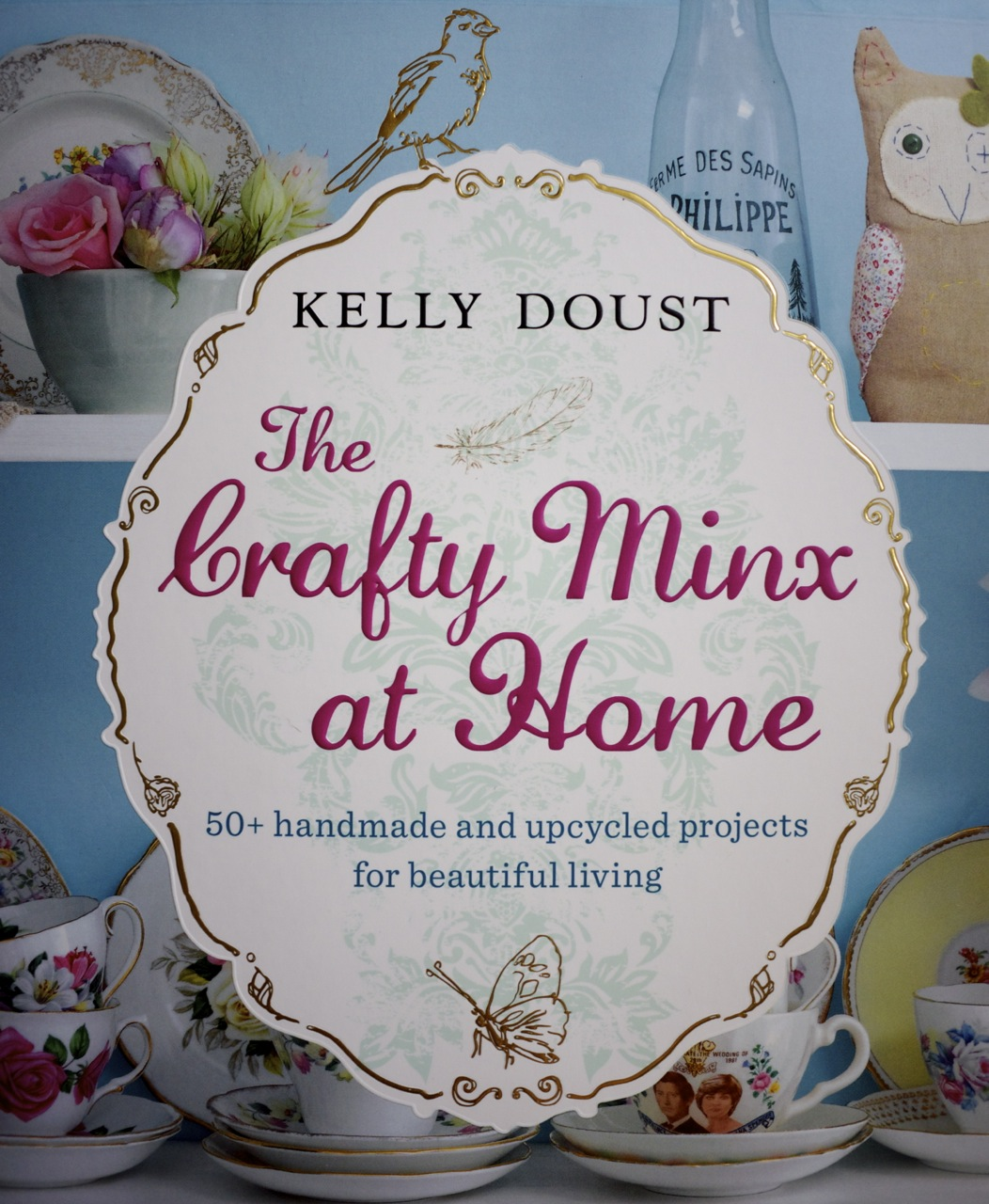 The Crafty Minx at Home Cover