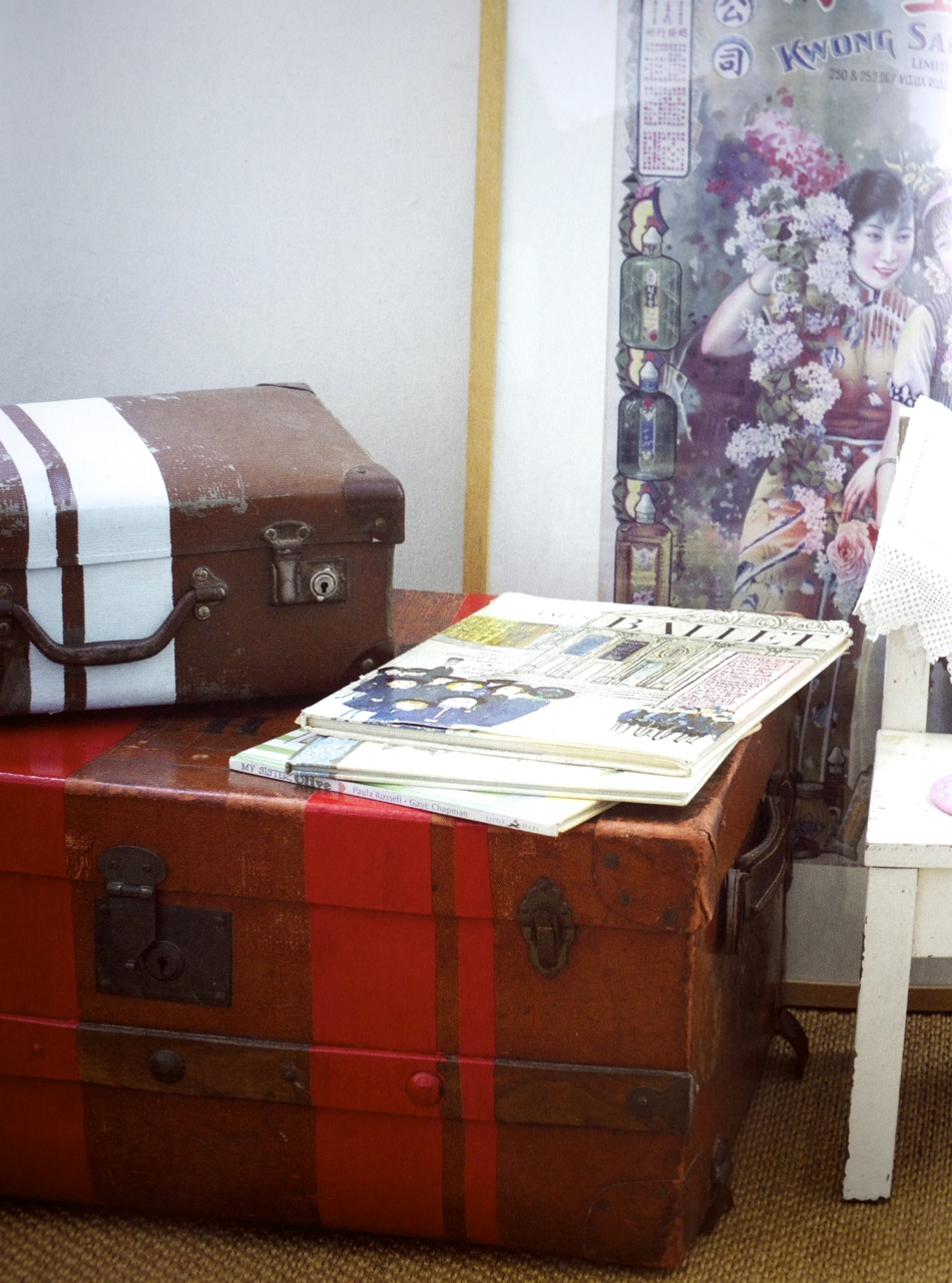 The Crafty Minx at Home - Suitcases