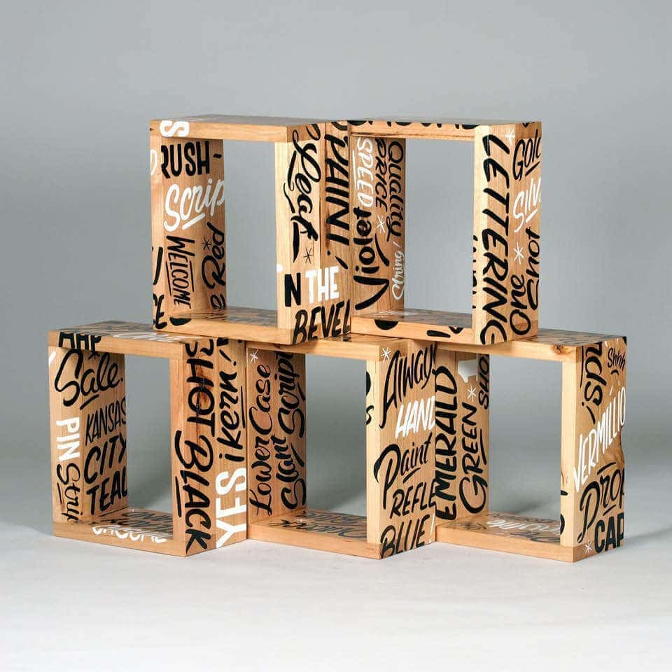 Graffiti Interiors - Shelf Boxes