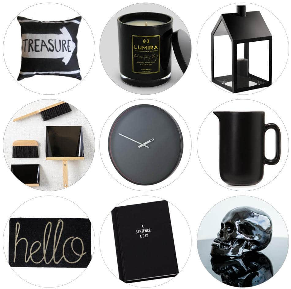 Black Homewares - The Life Creative