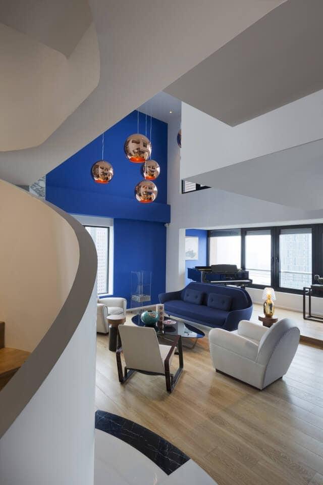 Penthouse Interior - Living Room