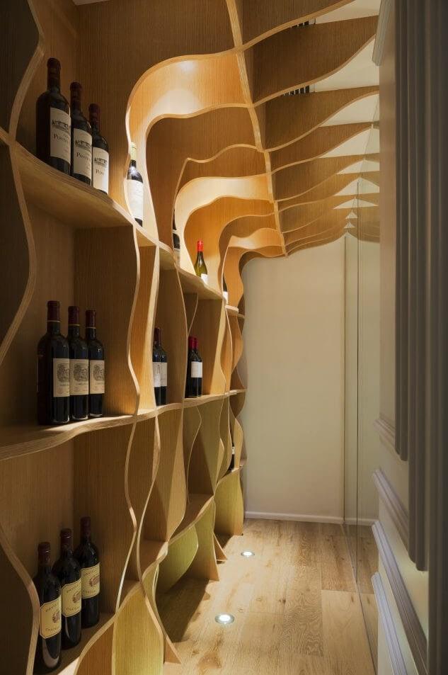 Penthouse Interior - Wine Cellar