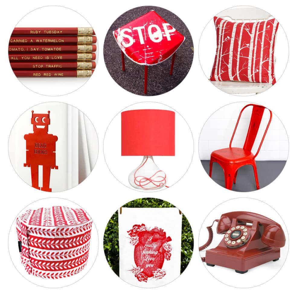 Red Homewares