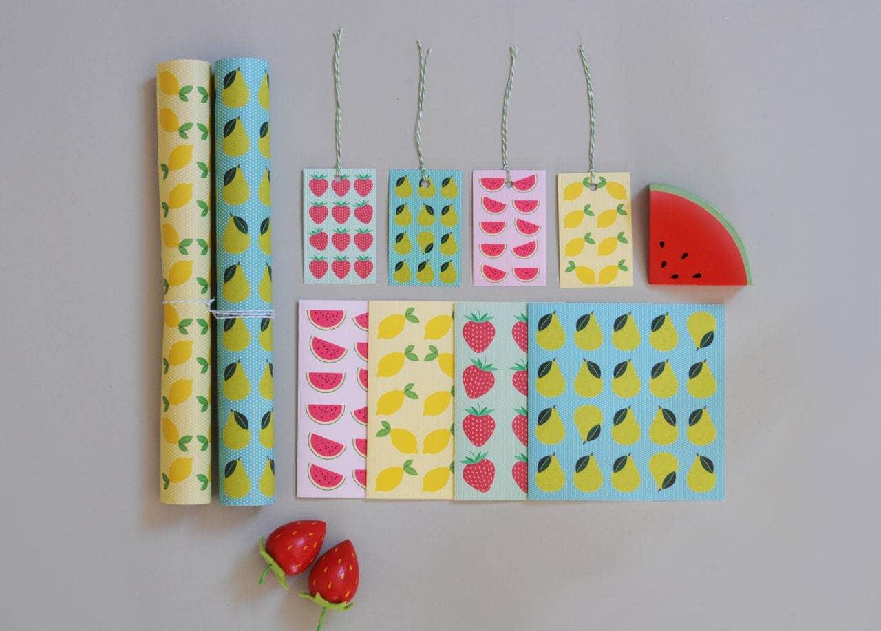 Tutti Fruity Stationery - Two Little Ducklings