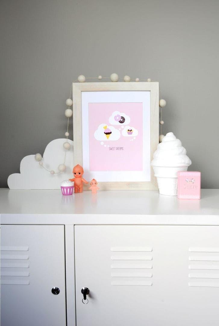 Two Little Ducklings - Sweet Dreams Print