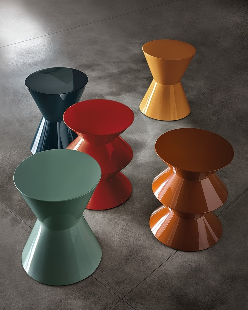 cesar stools in different colours alternative coffee table ideas