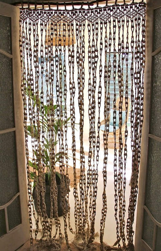 Macrame Curtain from The Dharma Door