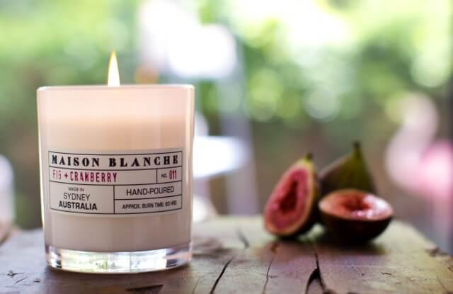 Maison Blanche Scented Candles