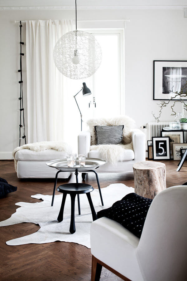 Scandi Interior - Living Room