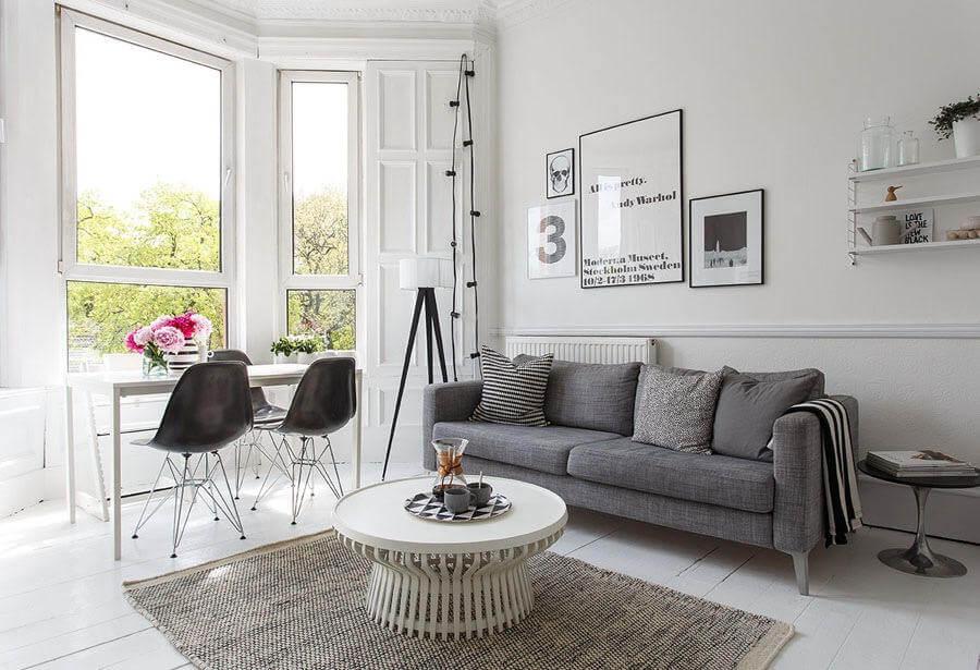 Scandi Interior - Lounge Room
