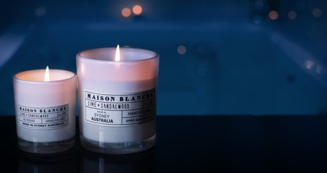 Scented Candle from Maison Blanche