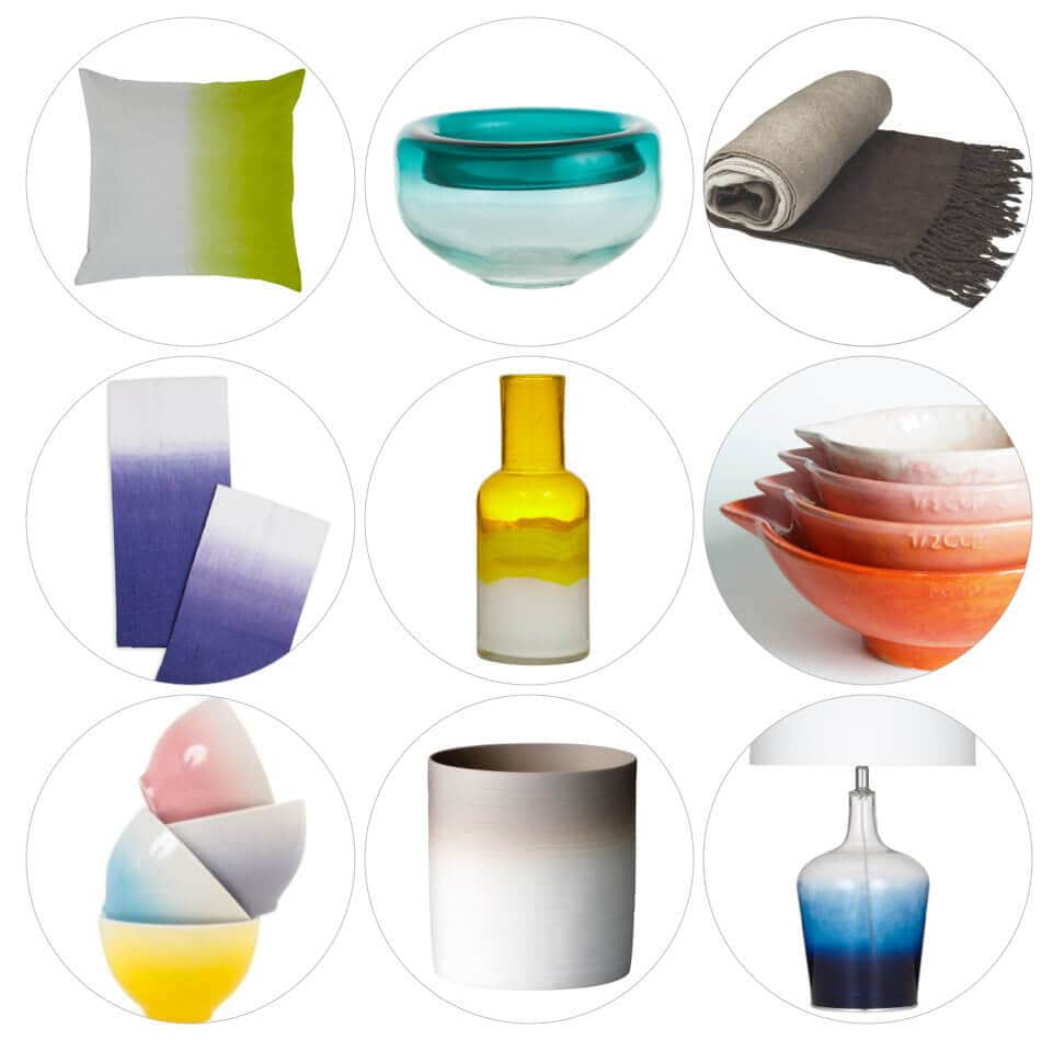 ombre homewares