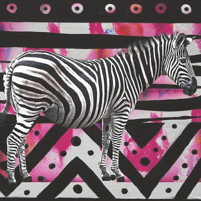 Animal Art - Zebra - Martine Gallery