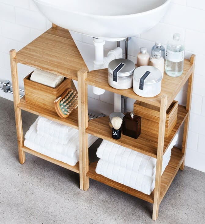 IKEA storage - bathroom