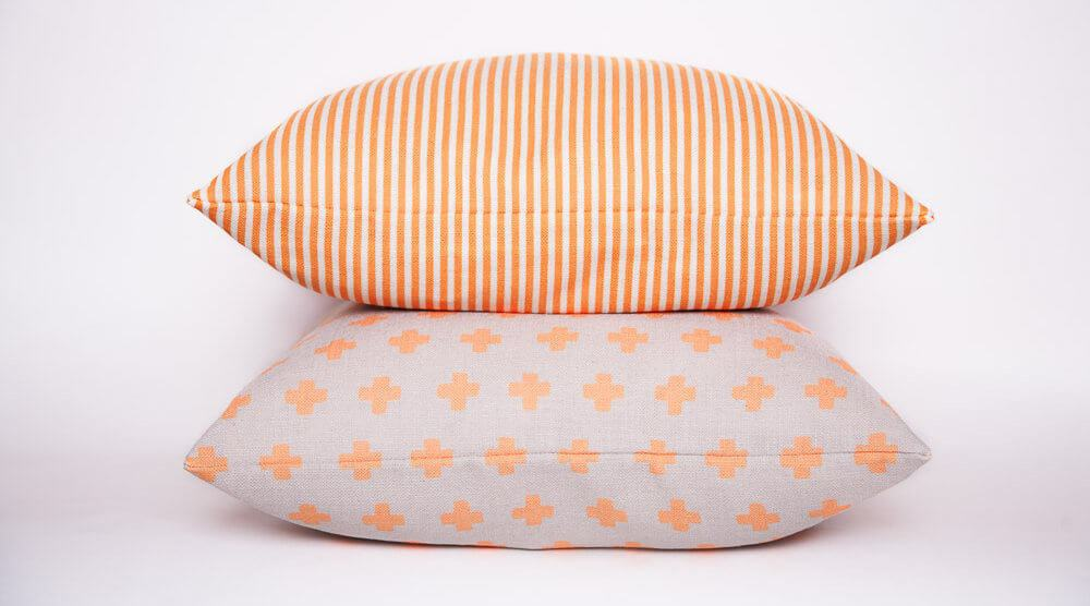 Orange Cross Sparkk Cushions