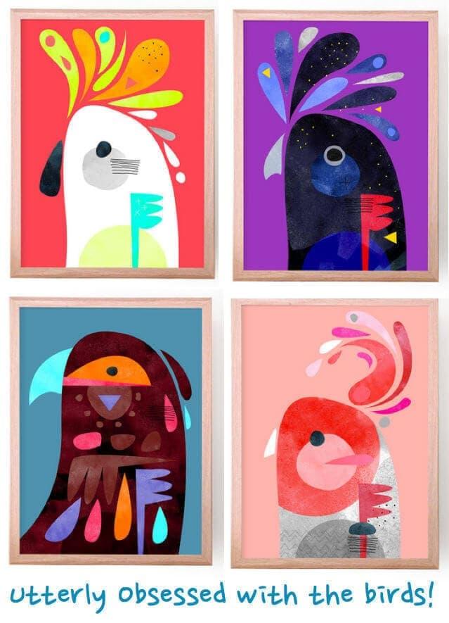 Peter Cromer - Bird Art