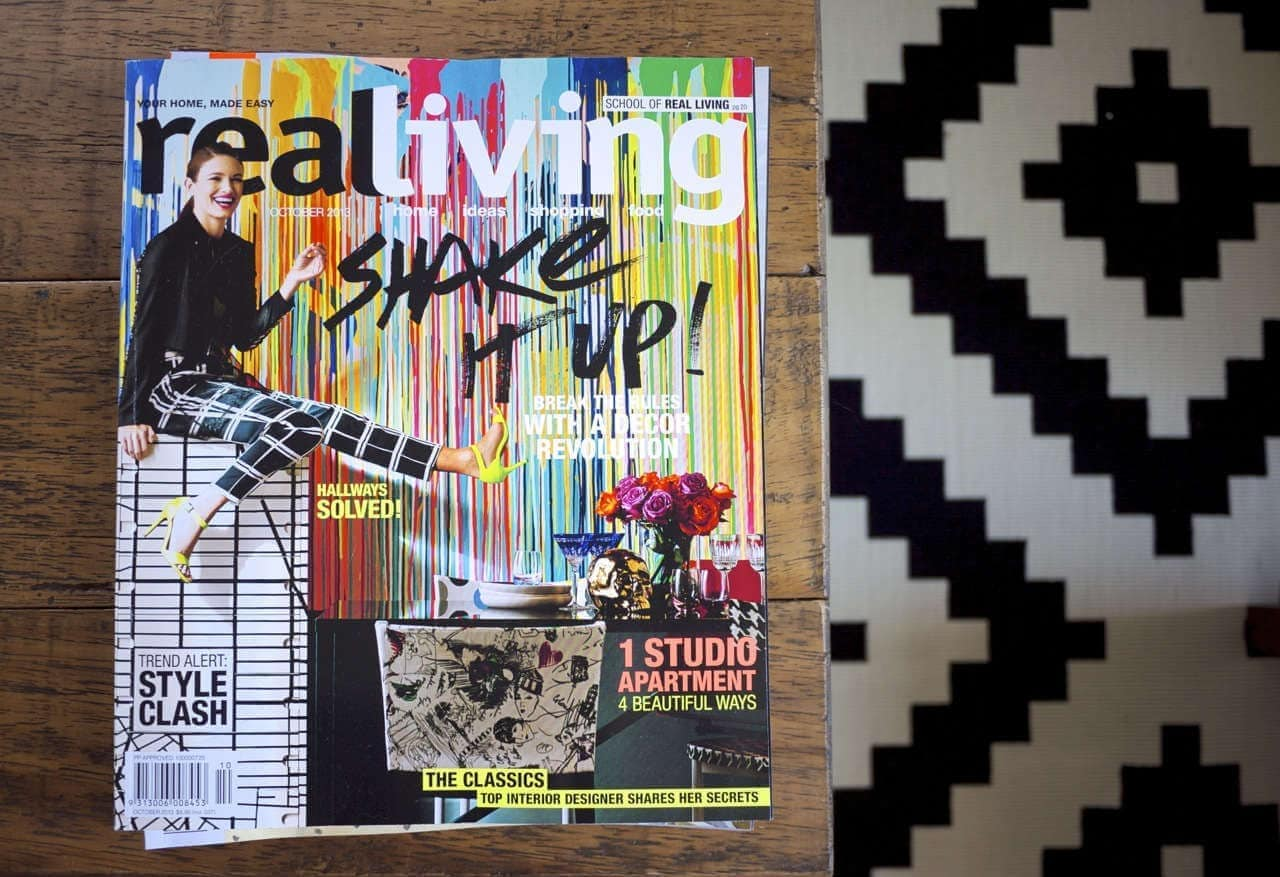 Real Living OCtober 2013 front cover