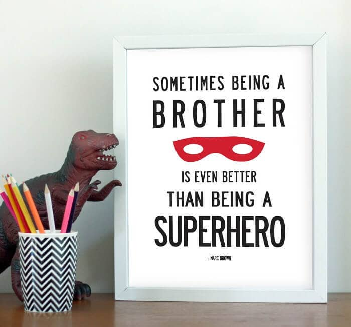 Brother Print - My Sweet Prints