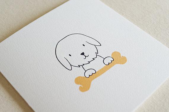 Greeting Cards - TJ Stationery - Dog