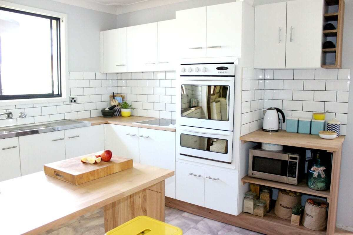 Kitchen Renovation on a Budget by Connie Sharpe The Life Creative Subway Tiles