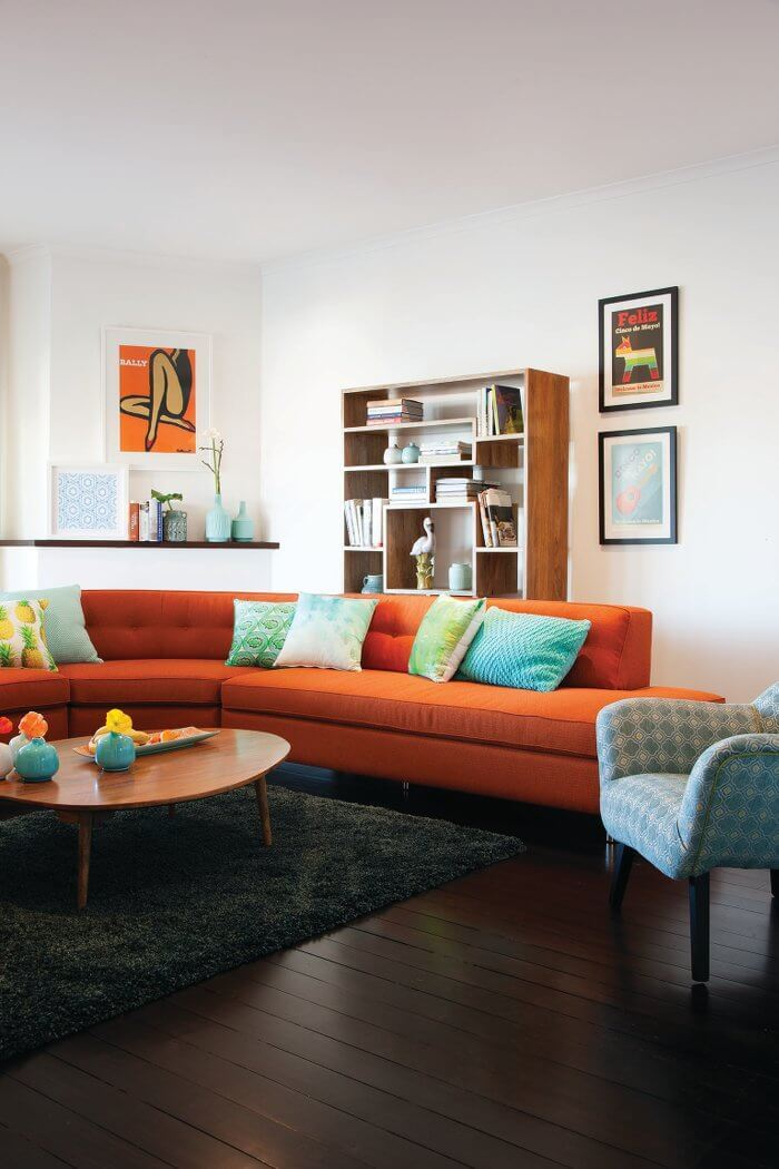 Marilyn Orangr Sofa - Oz Design